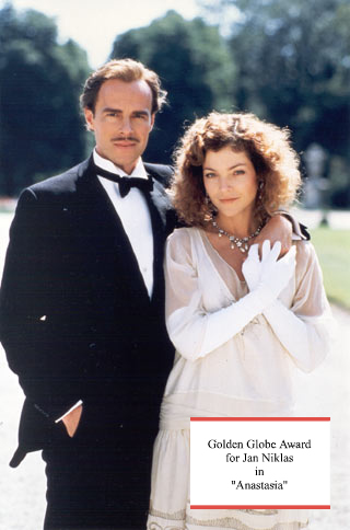 Jan Niklas and Amy Irving